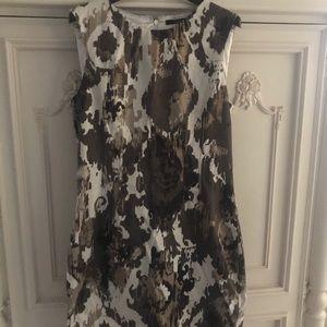 Women's Tahari Size 8 Sheath - Camouflage print